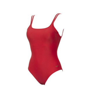 W SOLID U BACK ONE PIECE HIBISCUS-HIBISCUS